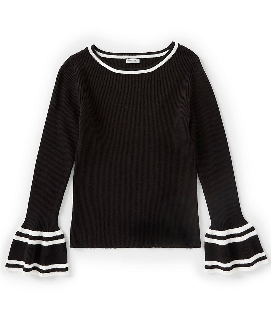 Habitual Big Girls 7-14 Bell-Sleeve Rylie Sweater