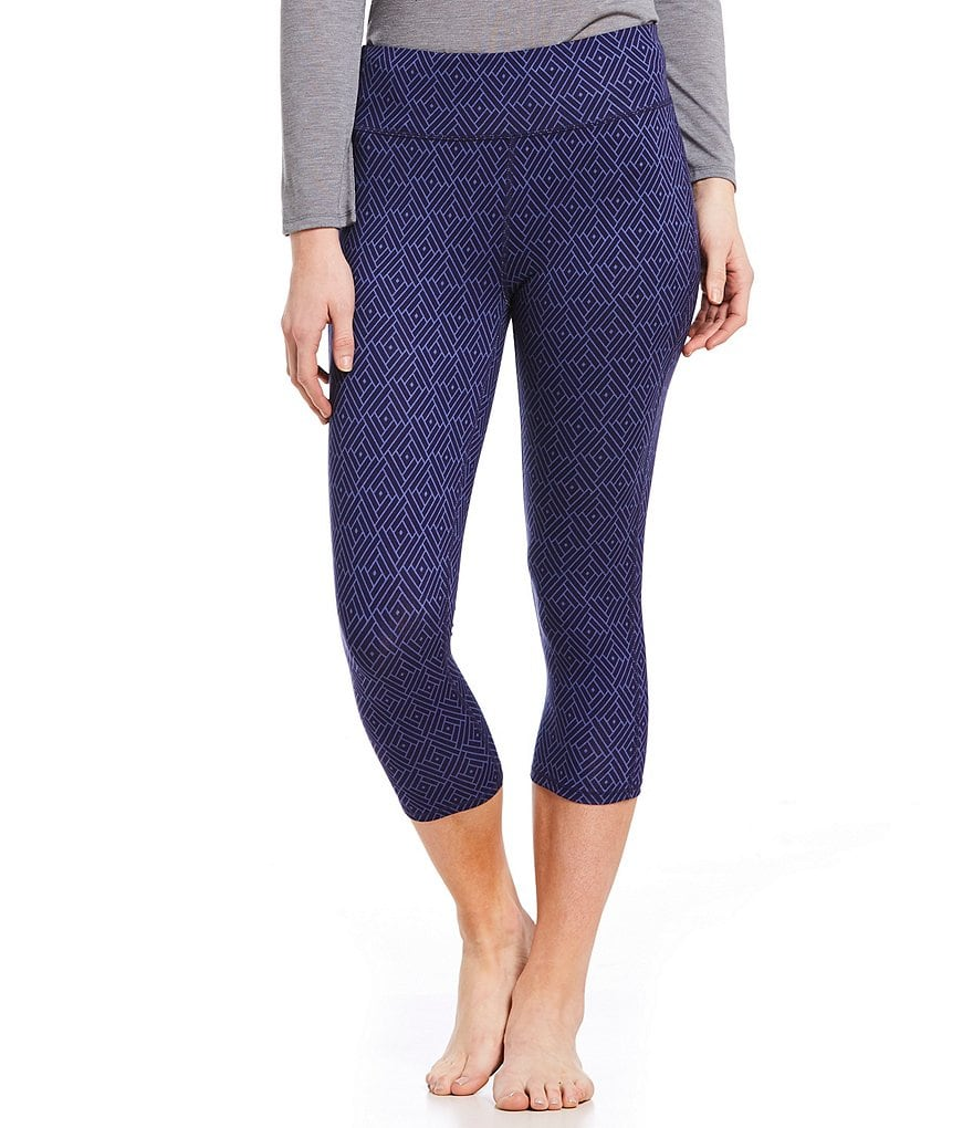 Half Moon by Modern Movement Geometric-Printed Jersey Lounge Leggings