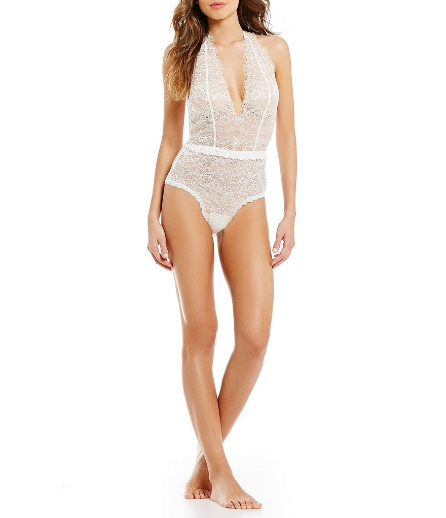 Hanky Panky After Midnight Plaything Eyelash Lace Teddy