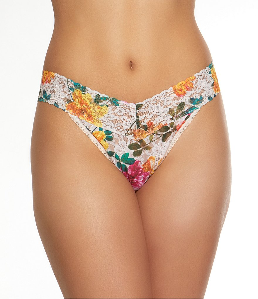 Hanky Panky Melissa Lace Original Rise Thong