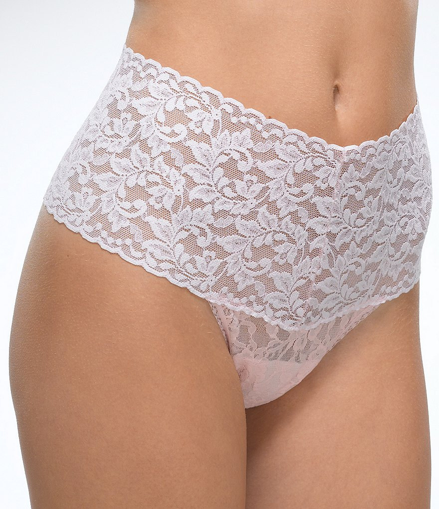 Hanky Panky Plus Retro Lace Thong