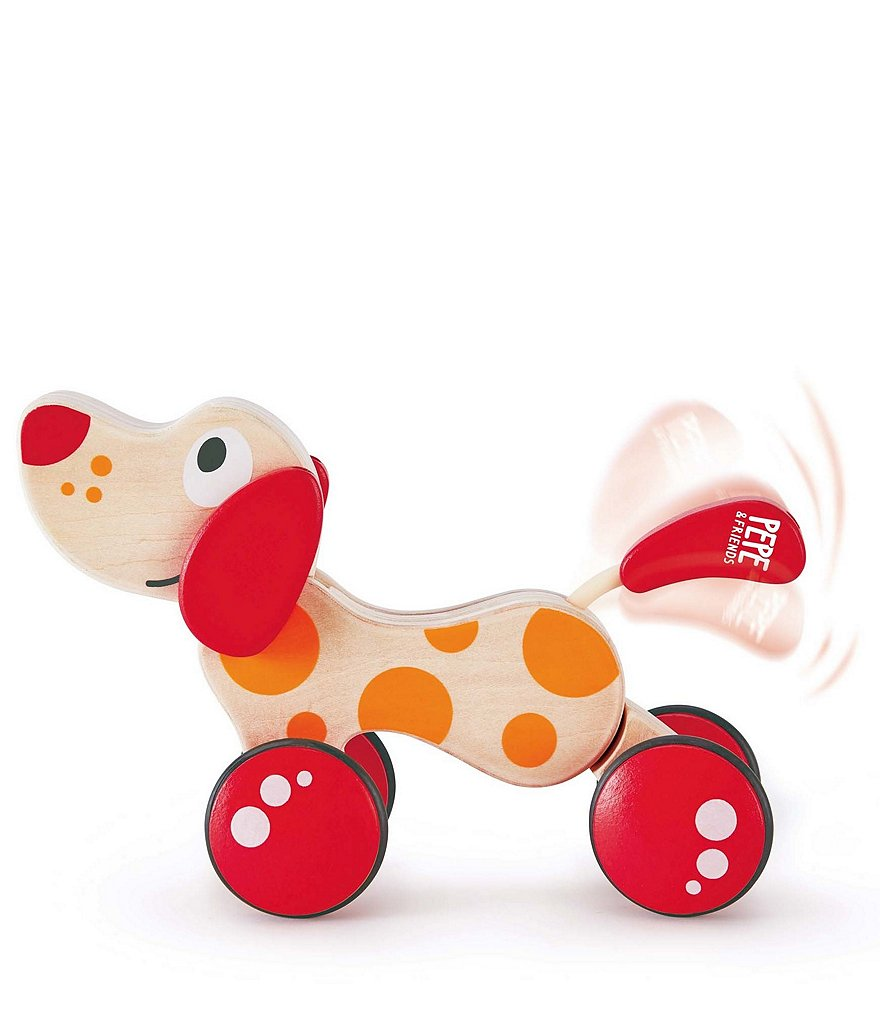Hape Pepe the Puppy Pull Along Toy
