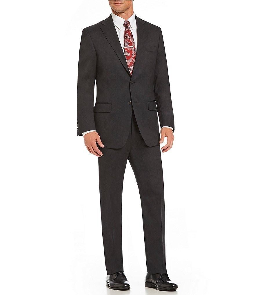 Hart Schaffner Marx Classic Tailored Fit Solid Suit