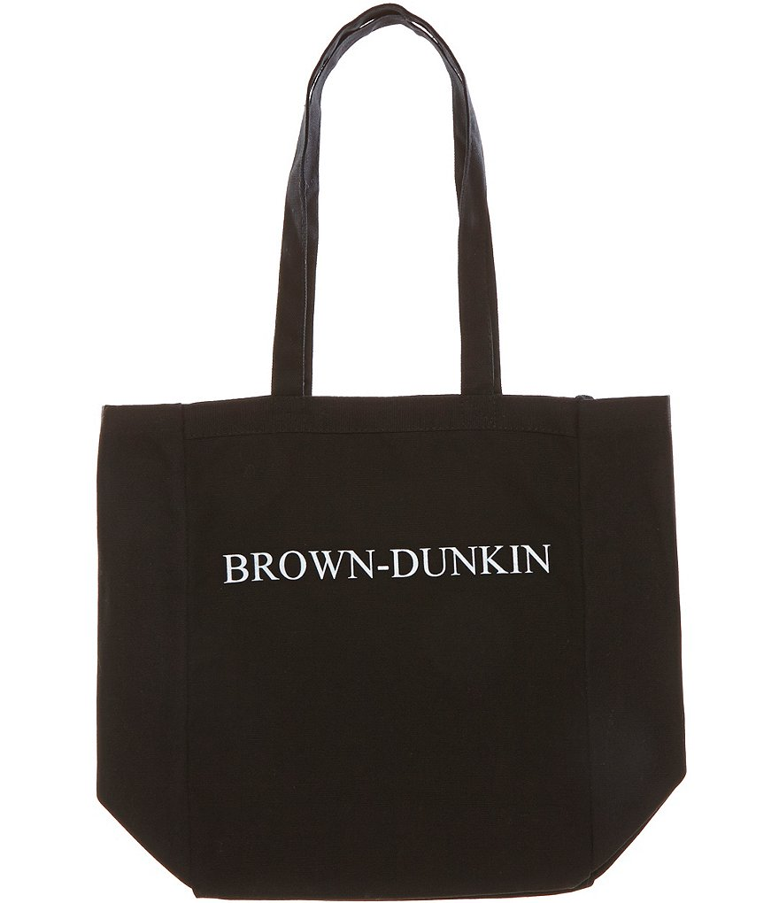 Heritage Brown-Dunkin Logo Tote Bag