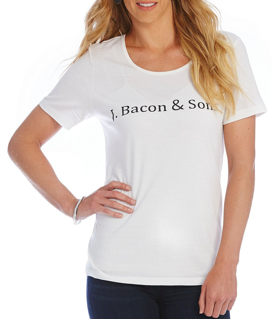 Heritage #double;J. Bacon & Sons#double; Logo Tee