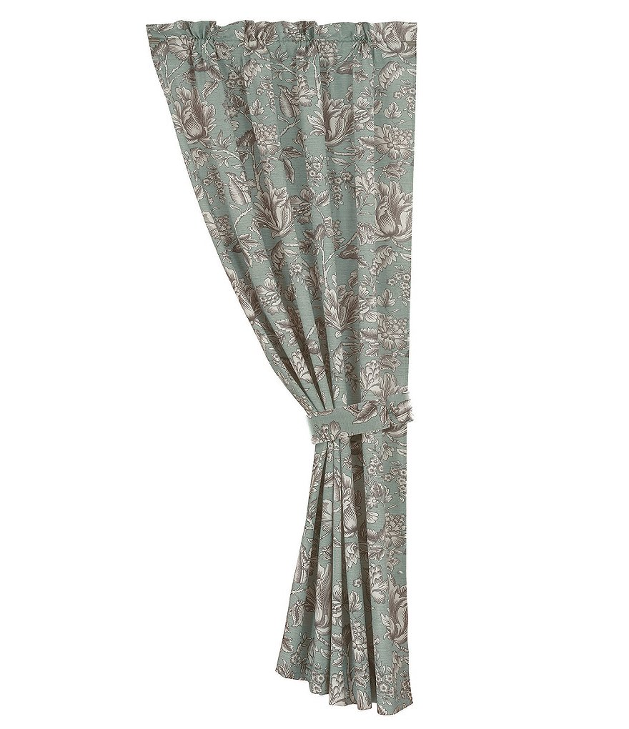 HiEnd Accents Floral Drapery Panel