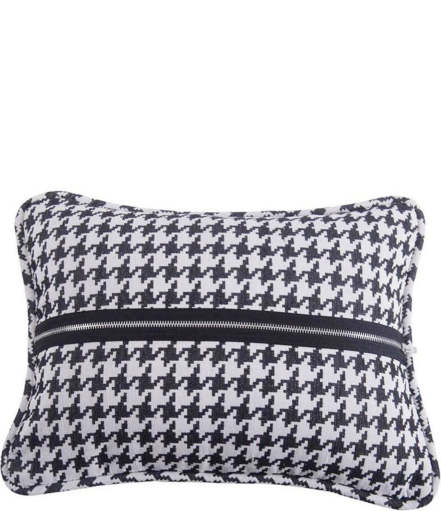 HiEnd Accents Houndstooth Deco Pillow