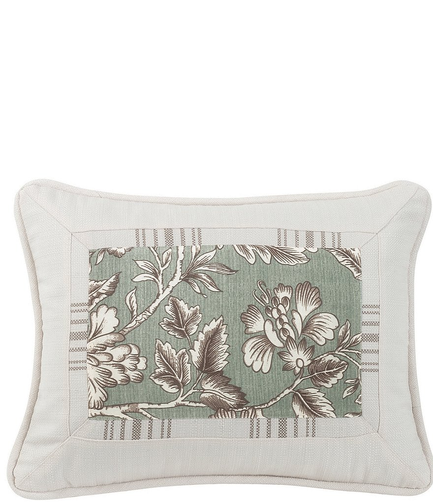 HiEnd Accents Oblong Floral Print Pillow