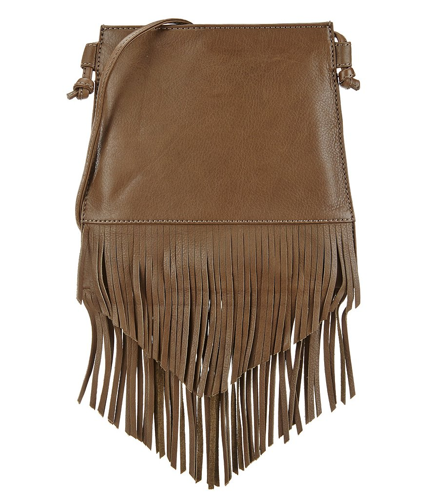 Hobo Meadow Fringe Cross-Body Bag