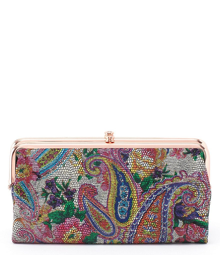 Hobo Original Lauren Colorful Paisley Wallet