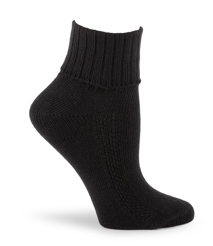 HUE Air Cushion Sport Turncuff Socks 3-Pack