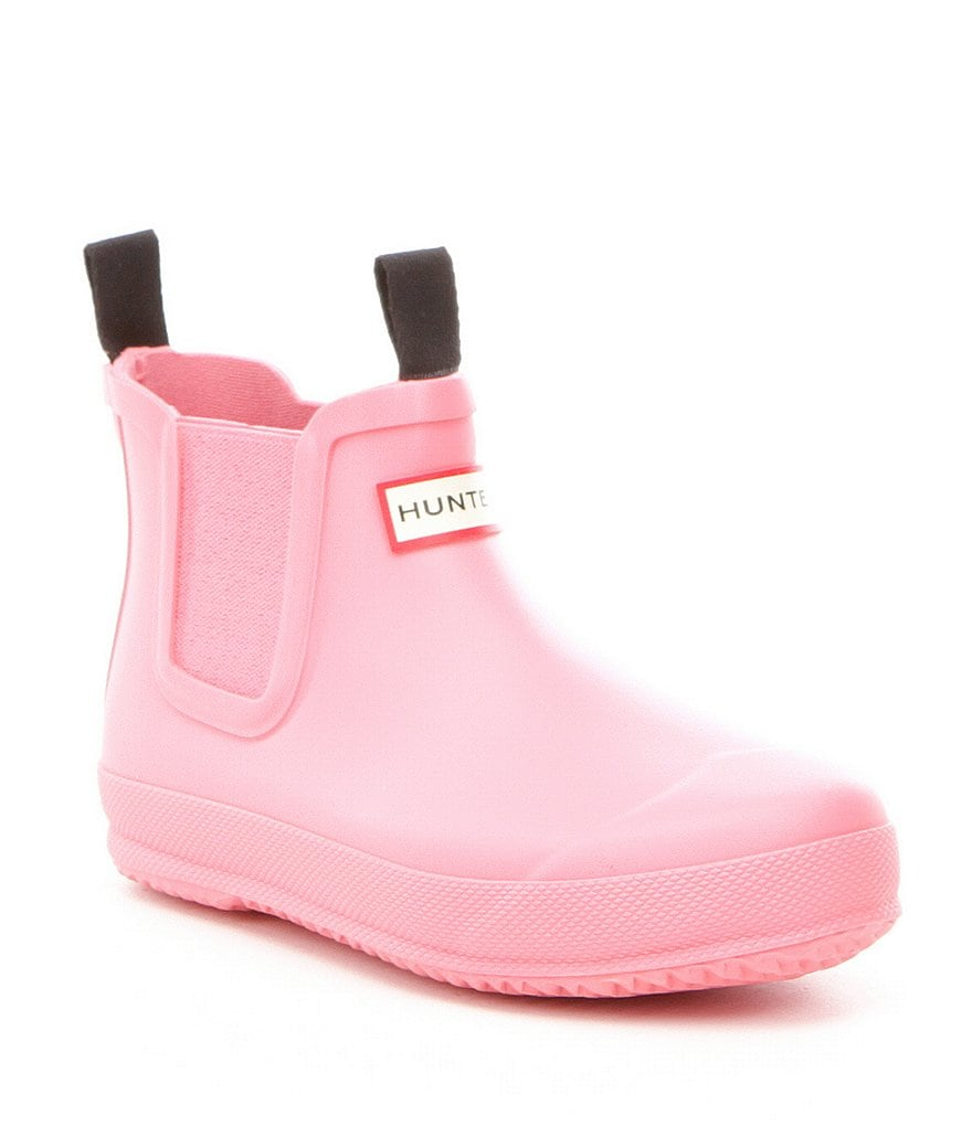 Hunter Kid's Waterproof Chelsea Rain Boots