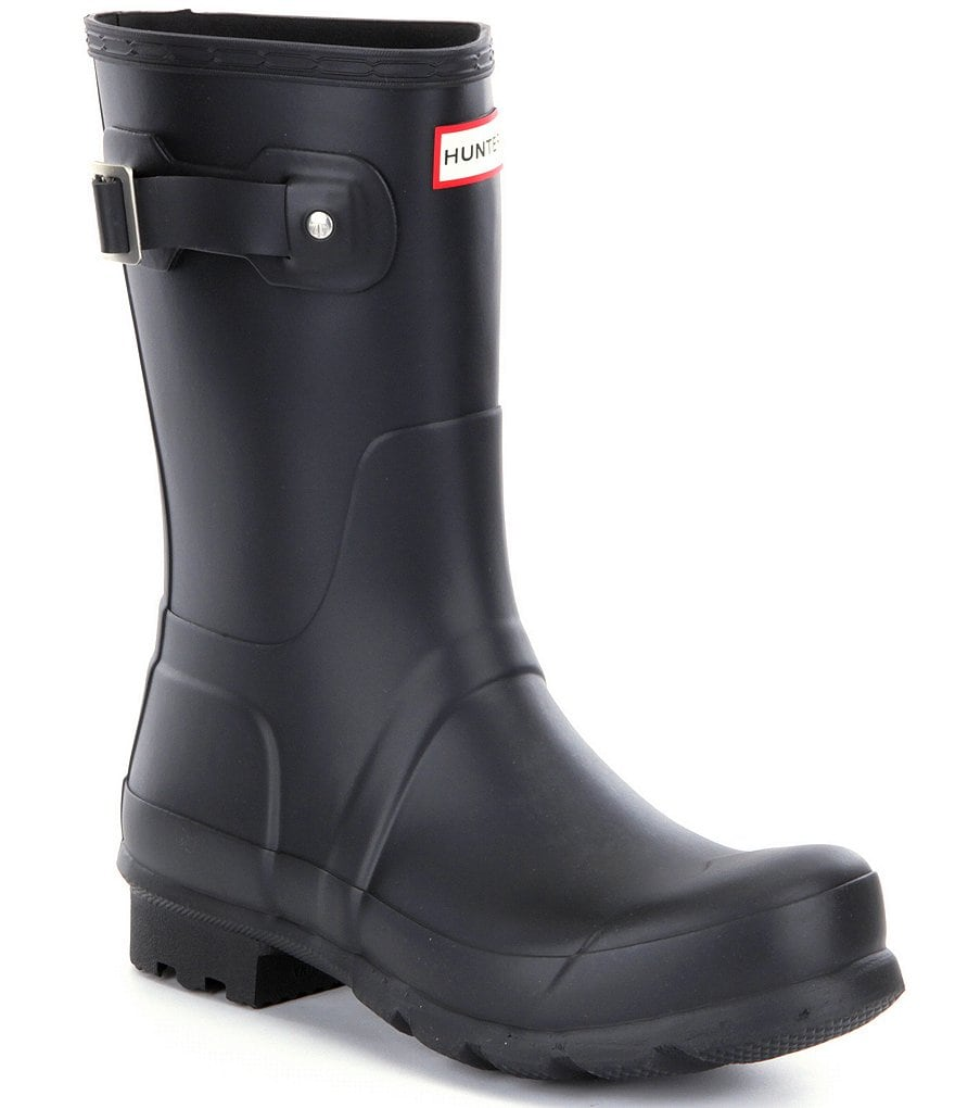 Hunter Original Men's Short Waterproof Rain Boots
