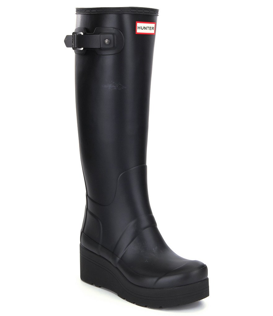 Hunter Women´s Original Low Wedge Tall Rain Boots