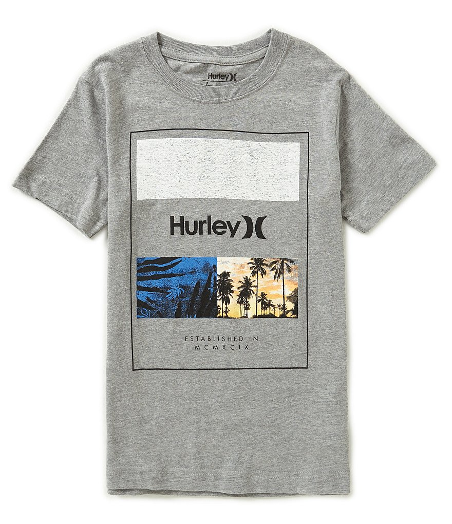Hurley Big Boys 8-20 Skram Short-Sleeve Graphic Tee
