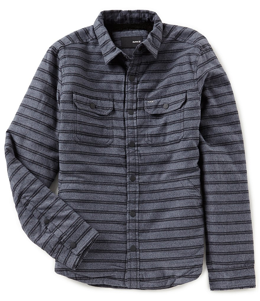 Hurley Dispatch Long-Sleeve Shirt Jacket