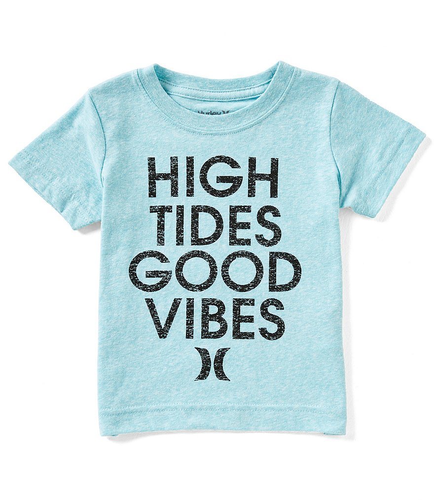 Hurley Little Boys 2T-7 High Tides Short-Sleeve Tee