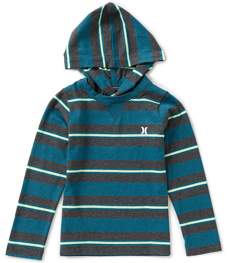 Hurley Little Boys 4-7 Last Call Thin/Wide-Stripe Hoodie