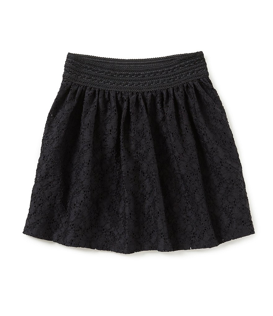 I.N. Girl Big Girls 7-16 Lace Pull-On Skirt