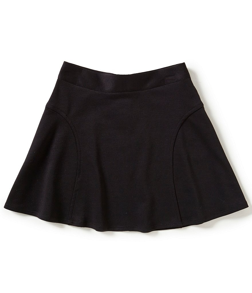 I.N. Girl Big Girls 7-16 Ponte Skirt
