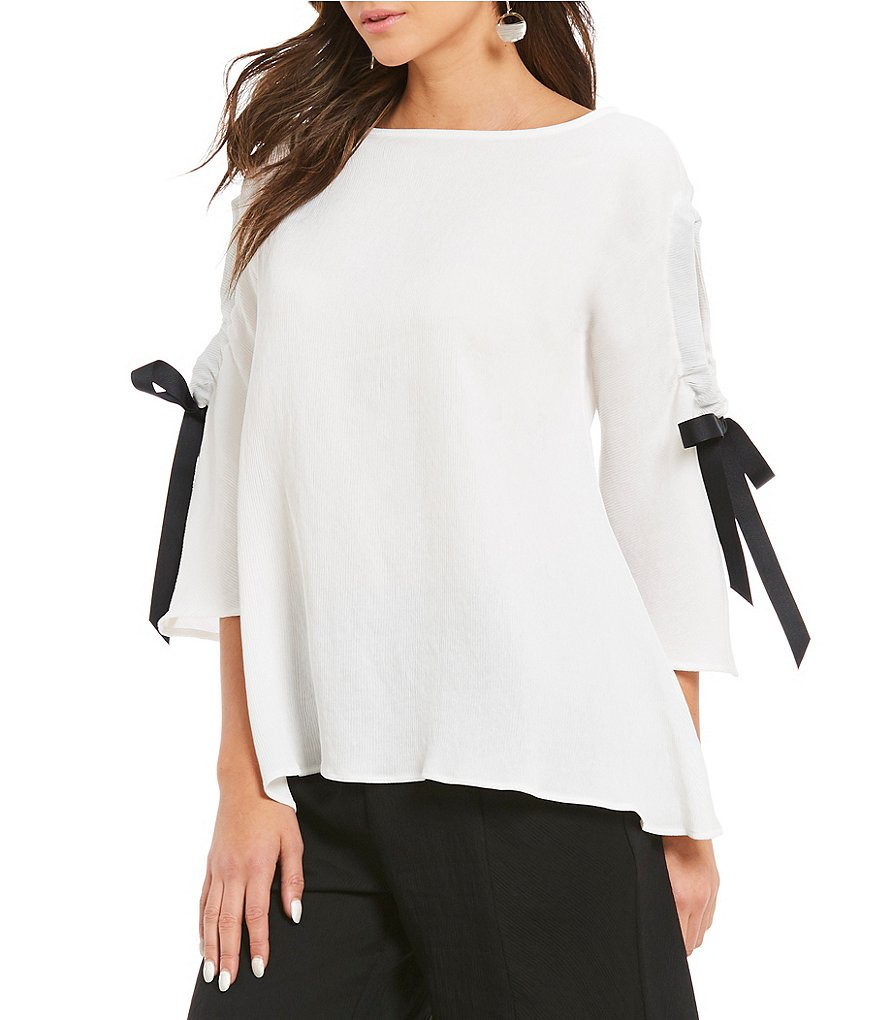 IC Collection 3/4 Bow Sleeve Tunic
