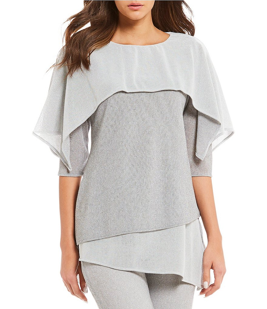 IC Collection Mesh Layered Tunic