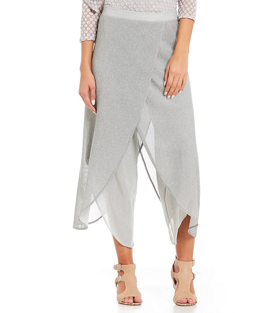 IC Collection Mesh Tulip Crop Pants