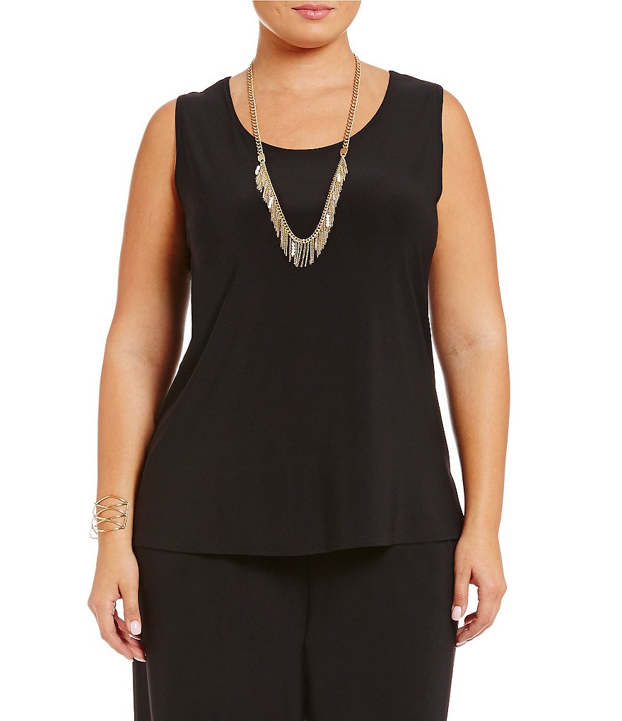 IC Collection Plus Scoop Neck Tank