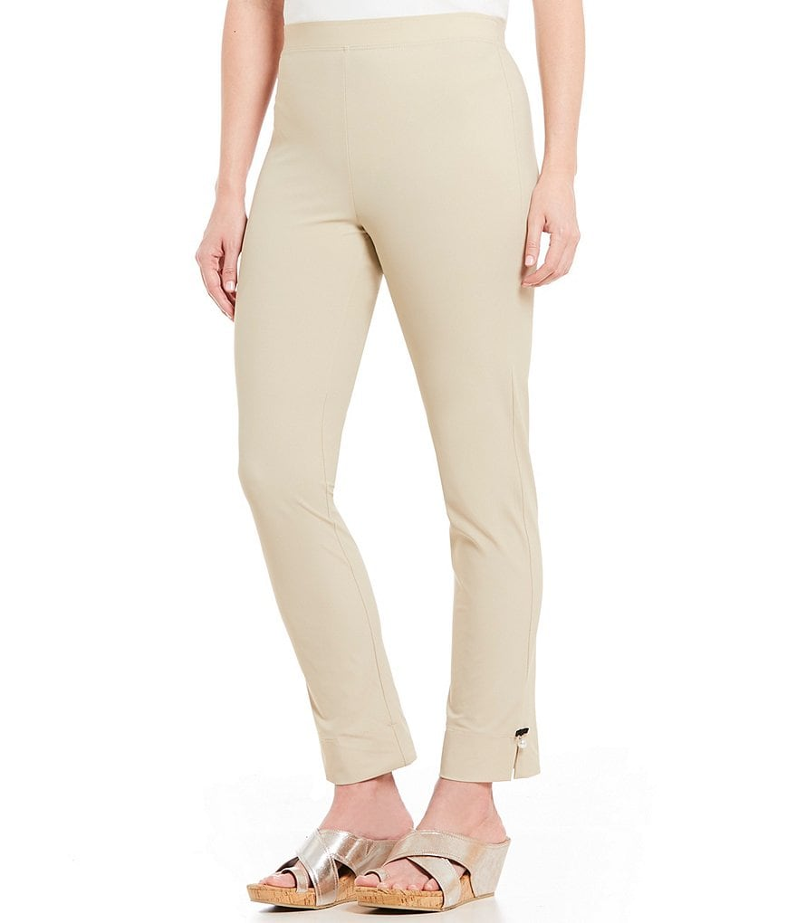 IC Collection Pull-On Pearl Hem Detail Pants