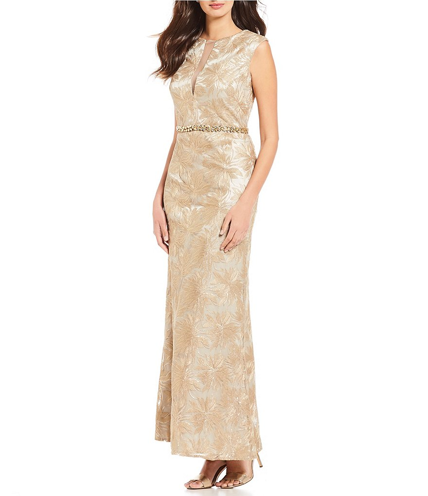 Ignite Evenings Beaded Waist Gown
