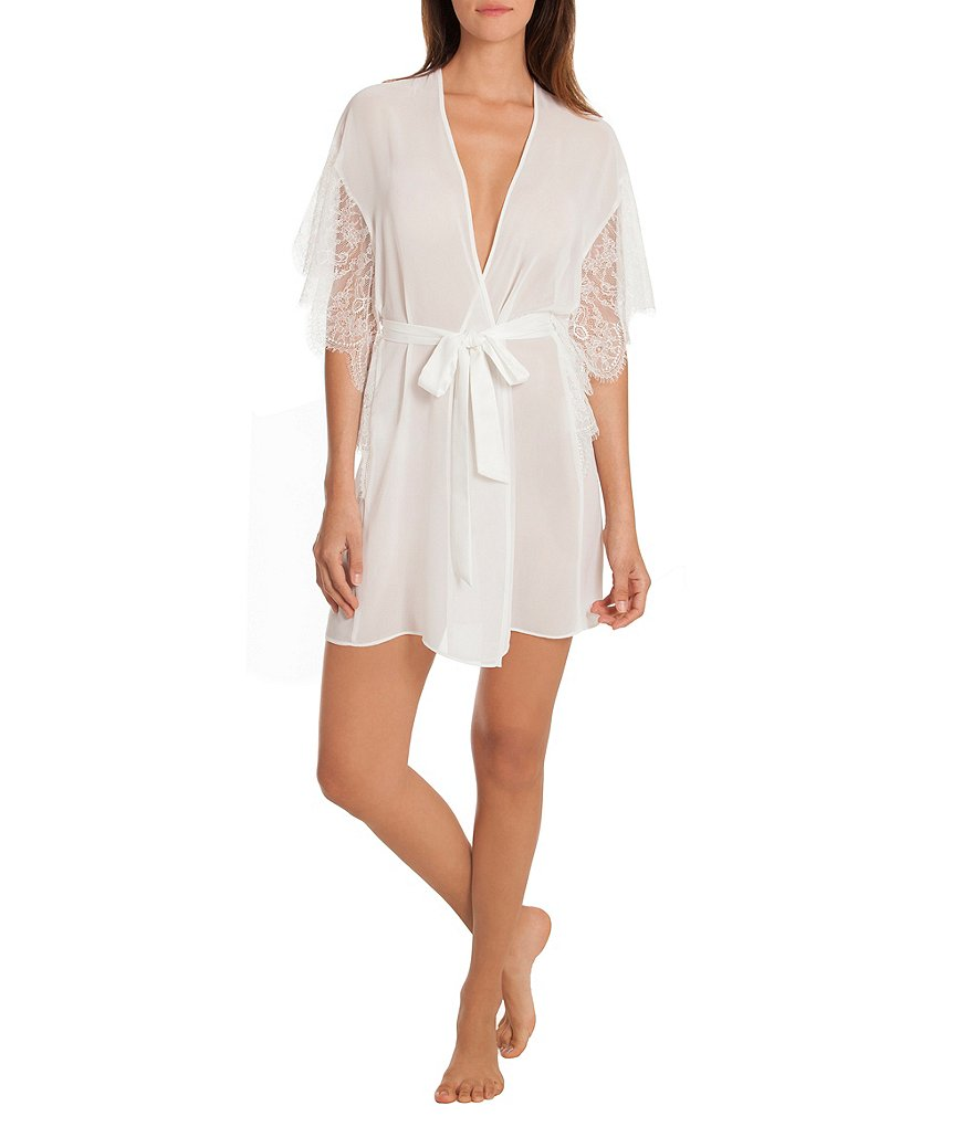 In Bloom by Jonquil Affinity Sheer Cocoon Wrap Robe