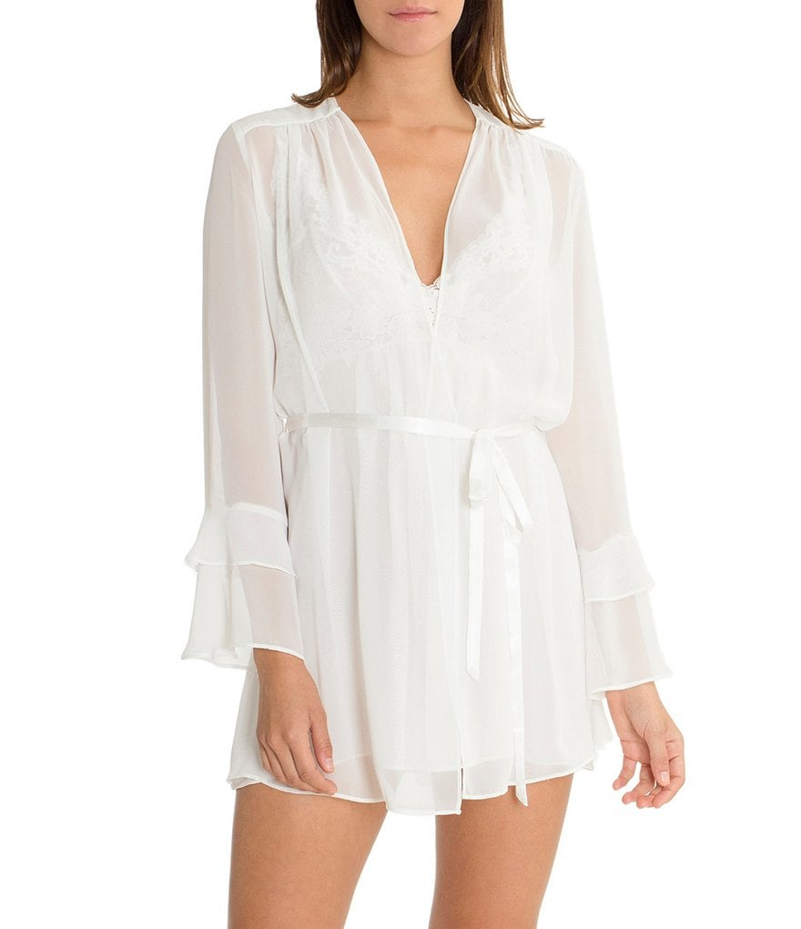 In Bloom by Jonquil Laura Chiffon Short Wrap Robe