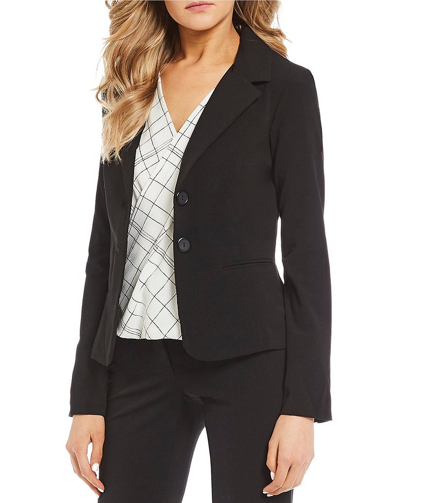 I.N. San Francisco Double-Button Suiting Blazer