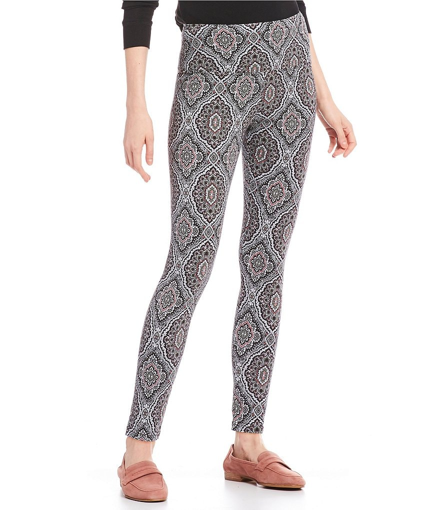 Intro Petite Love the Fit Printed Leggings