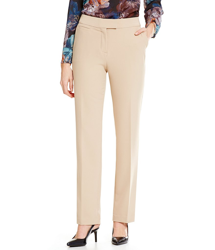 Investments Petites the 5TH AVE fit Straight Leg Pant
