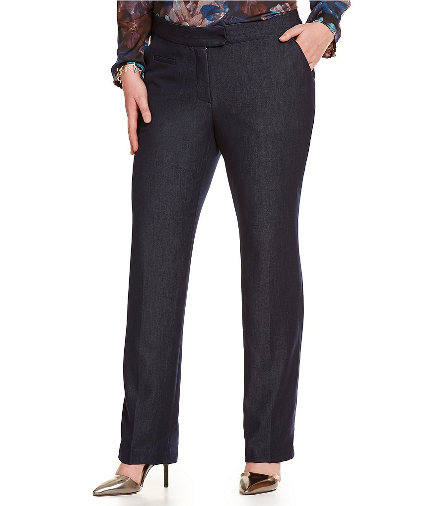 Investments Plus the 5TH AVE fit Straight Leg Pant