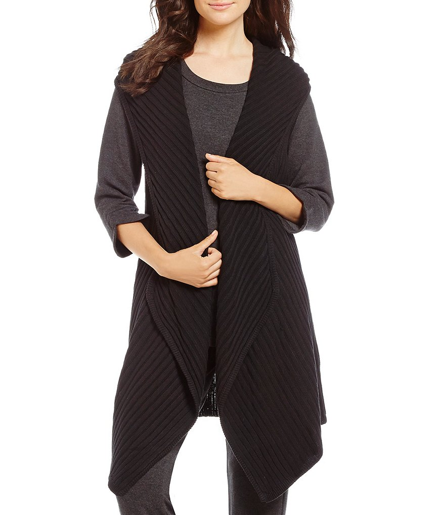 iRelax Ribbed Hooded Lounge Vest