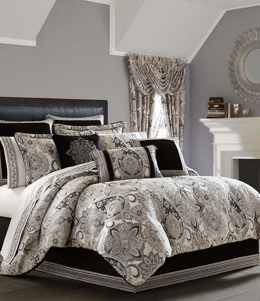 comforter cover duvet set embossed damask silver bedding marston quilt grey pin floral motif