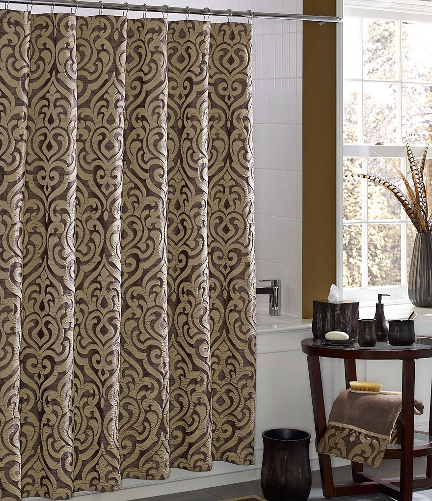 Fancy chairs fancy cardboard chairson home interior design ideas with - Damask Shower Curtains