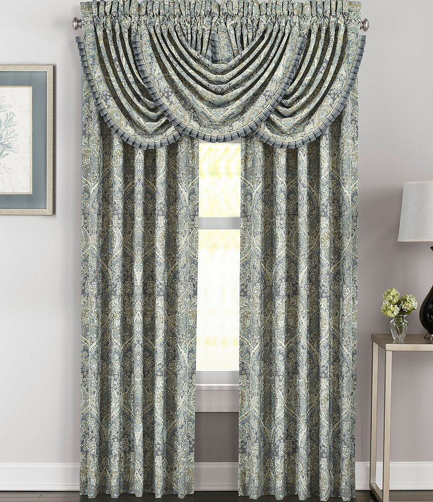 J. Queen New York Miranda Damask Window Treatments