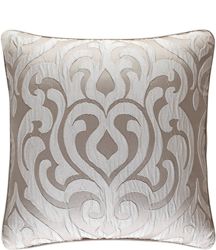 J. Queen New York Astoria Ironwork Square Pillow