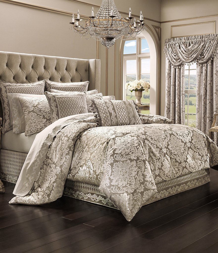 J. Queen New York Bel Air Sand Comforter Set