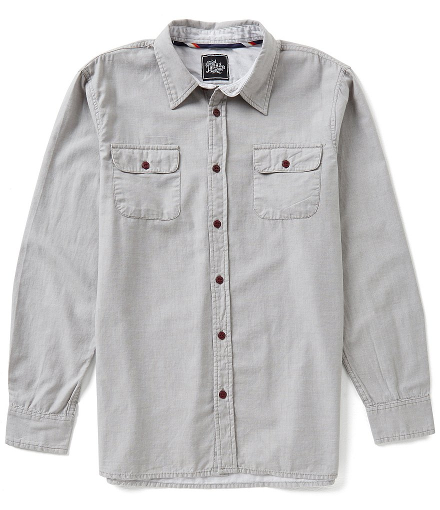 J.A.C.H.S. Manufacturing Co. Lightweight Solid Work Shirt