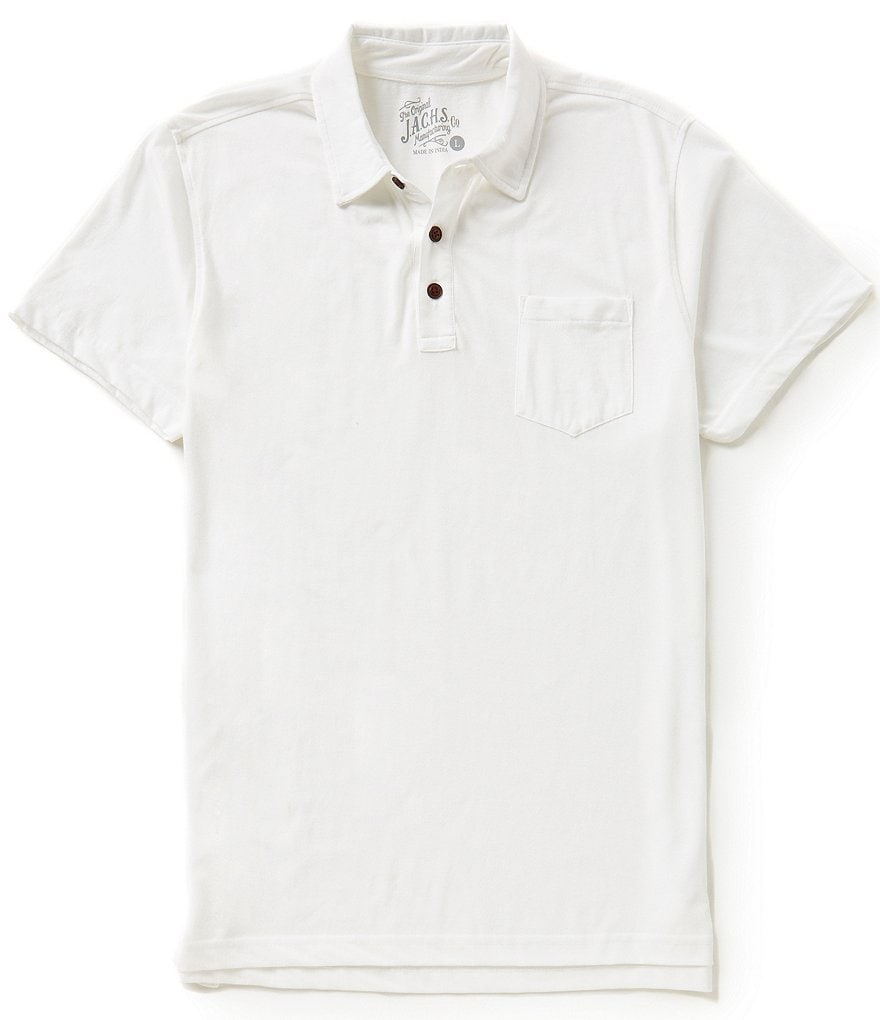 J.A.C.H.S. Manufacturing Co. Short-Sleeve Jersey Polo