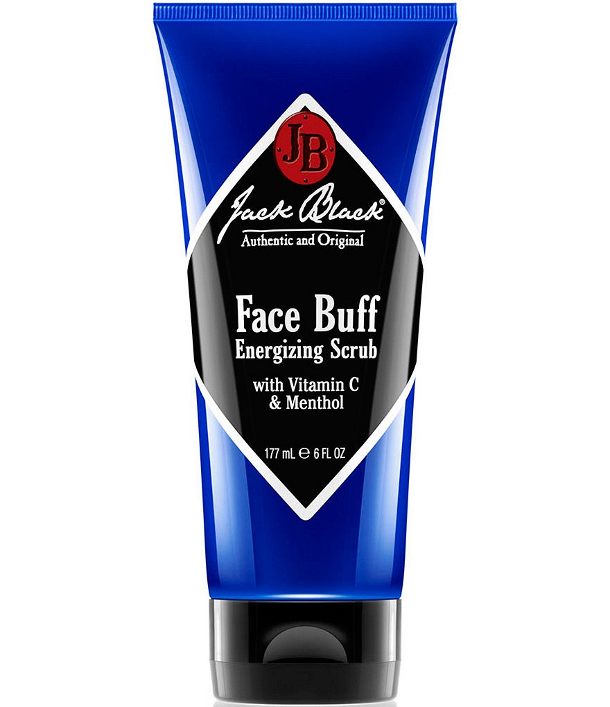 Jack Black Face Buff Energizing Scrub with Vitamin C & Menthol
