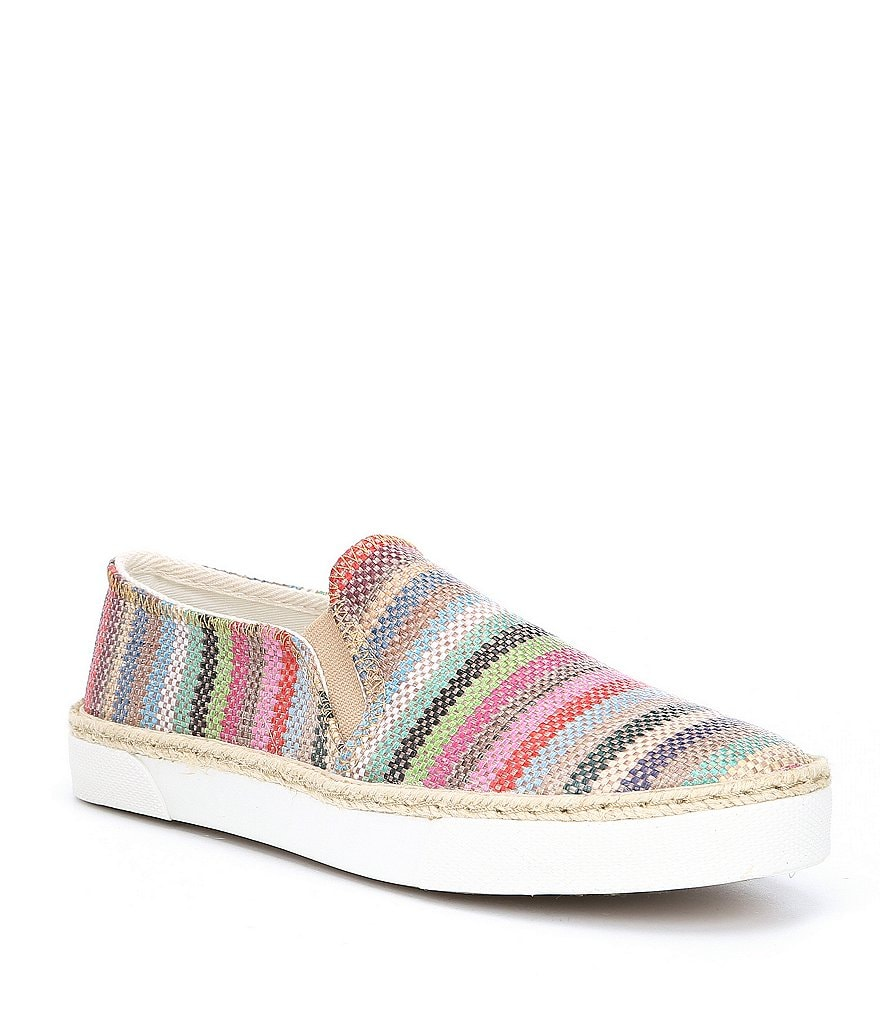 Jack Rogers Tucker Multi Stripe Slip-On Sneakers