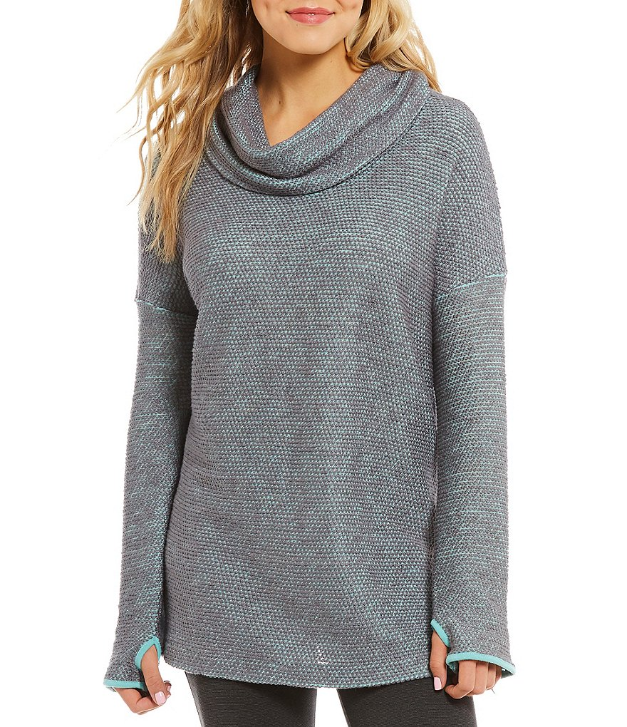 Jadelynn Brooke Cozy Cowl Neck Long Sleeve Pullover