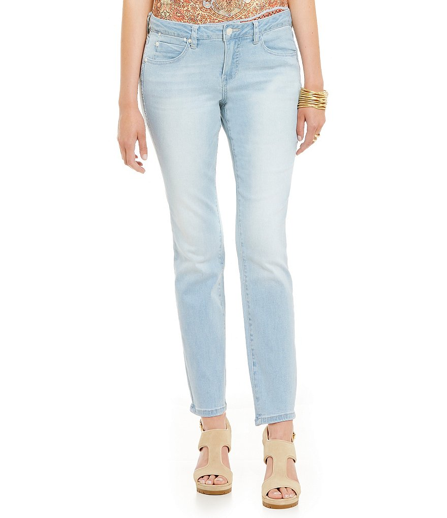 Jag Jeans Penelope Mid-Rise Slim Ankle Jeans