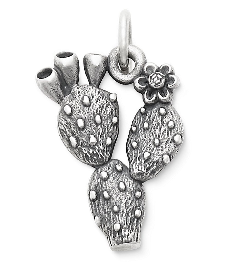 James Avery Prickly Pear Cactus Charm