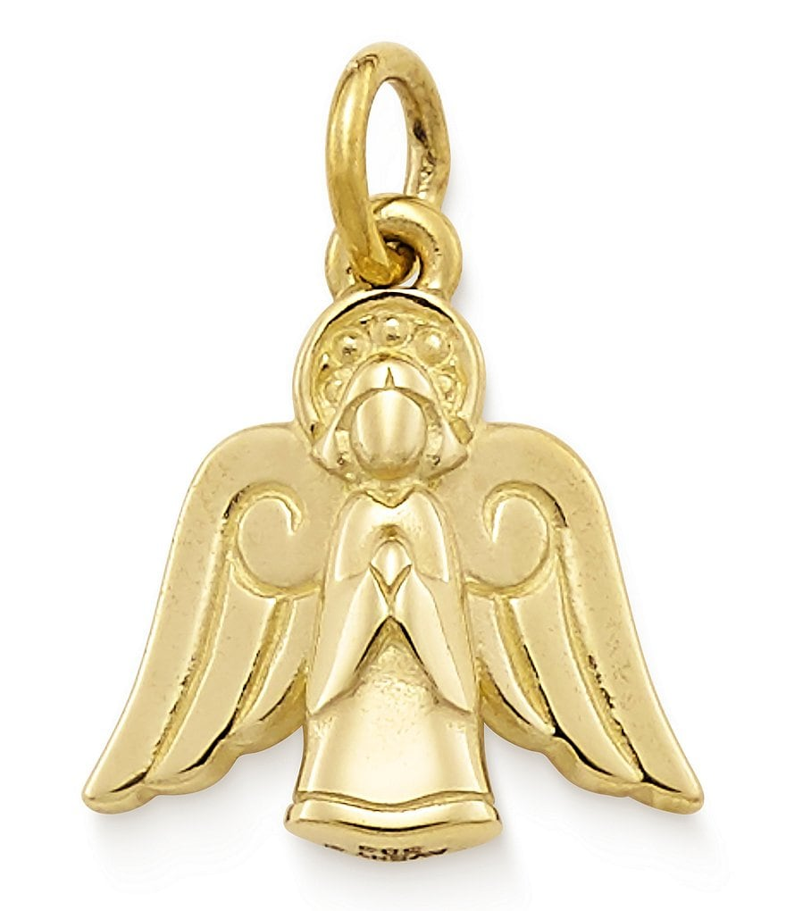 James Avery 14K Gold Angel of Peace Charm